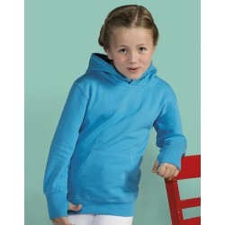SWEAT CAPUCHE ENFANT BI COLOR